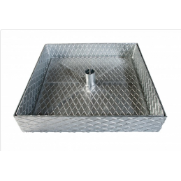 Galvanized cover 7.50cmx40...