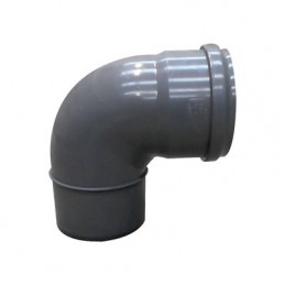 Curva pvc 200x90 DIN c/vedante