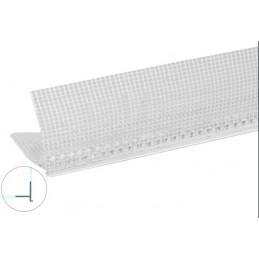 Perfil pingadeira PVC - 2,5m