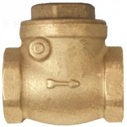 Brass check valve 1/2 w /...