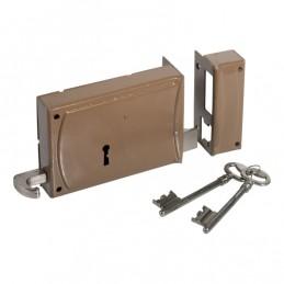 Large key lock w / 2 keys...