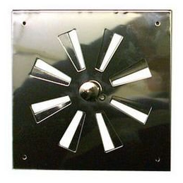 15x15 Adjustable Stainless Fan