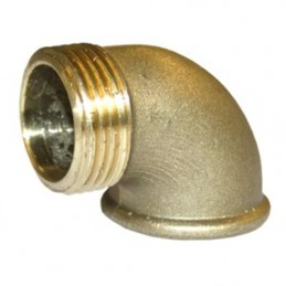 "Knee Brass 1/2 ""M / F"