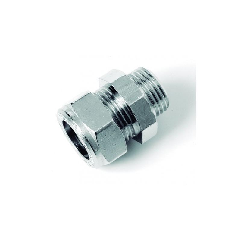 TUBO di scarico doppio connettore morsetto morsetto universale Ø 41-43 x 90mm