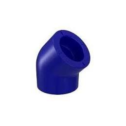 Curve PP-R 45º Blue 20