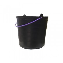 Plastic Bucket 17Lt Black...