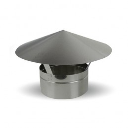 Chinese Type 100mm Hat - Inox