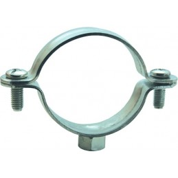 Stainless steel clamp 120 M8