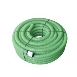 Tubo corrugado verde 25mm -...