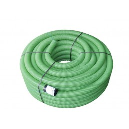 Green corrugated tube 25mm...