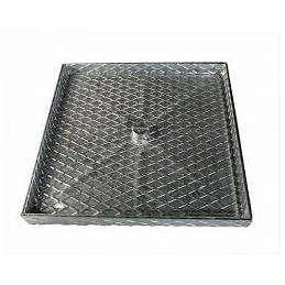 Galvanized cover 2.50cmx60...