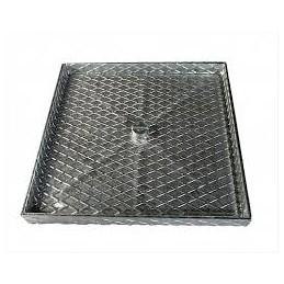 Galvanized lid 5.00cmx60 deep