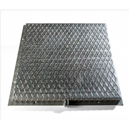 Bâton en plastique carré 40x40