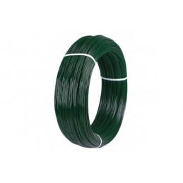 Alambre plastificado verde...