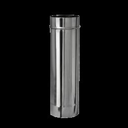 Tubo de inox simples 80mm -...
