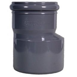 Eccentric PVC reduction 125x90