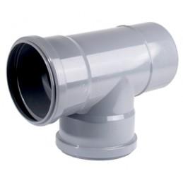 Té PVC 40x40 TD (C / Sellador)