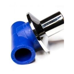 Blue PP-R 20 shut-off valve...