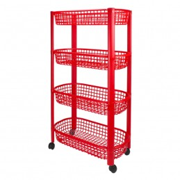 PVC Storage Cart 4 shelves...