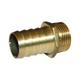 Brass male cannon 1/2