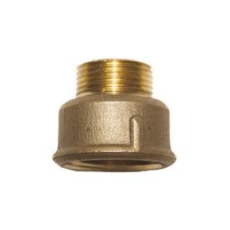 Brass union M / F reduction...