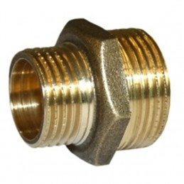 Double brass bushing 1/1 /...