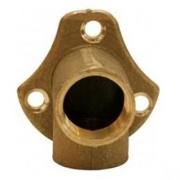 Knee w / brass pater 1/2