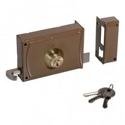 Lock 12cm w / 3 keys 720 right