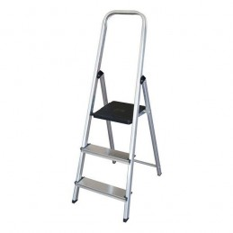 Aluminum step ladder with 3...