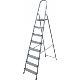 Open aluminum ladder 8...