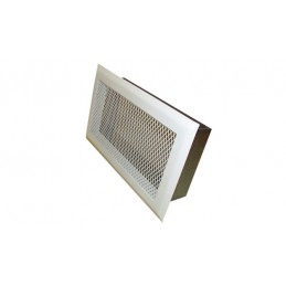 White Grill Vent with frame...