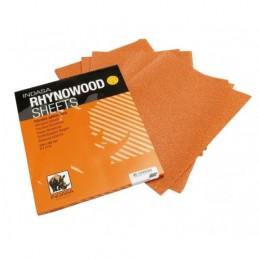 Hoja de lijado de madera P80