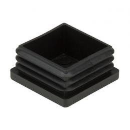 Taco plástico quadrado 25x25