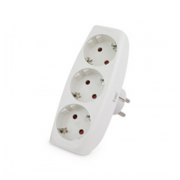 Triple rectangular plug (3...