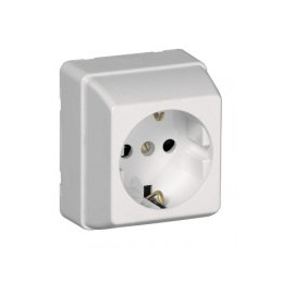 Outer square outlet with...