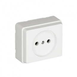 Outer square outlet without...