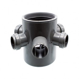 Sifão Pav. PVC 125x40x75 C/Aro