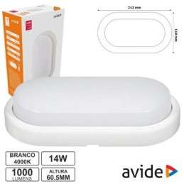 Applique Avide Led Ovale...