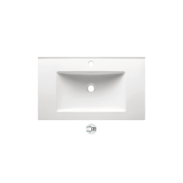 New TUY 80 Ceramic Washbasin