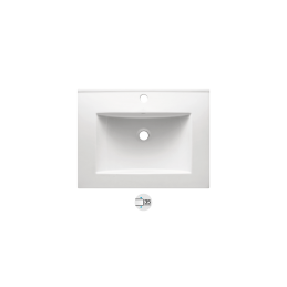 New TUY 60 Ceramic Washbasin