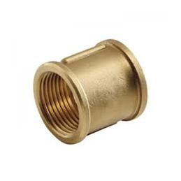 "Brass Fitting 1/2 ""F / F"