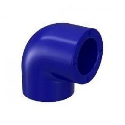 Ginocchio semplice PP-R Blu 25