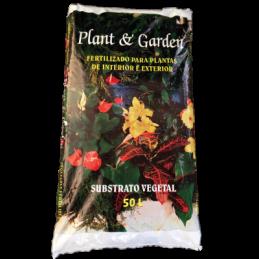 Saco de Terra P/Plantas 10L...