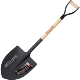 Bellota wooden handle shovel