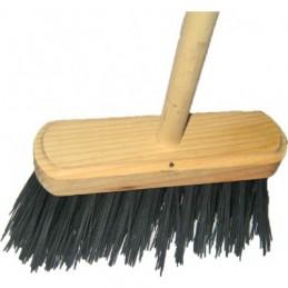Right angle broom handle