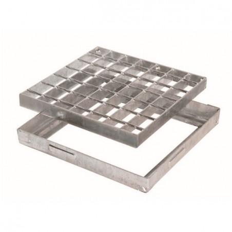 Taco plástico quadrado 40x40