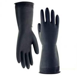 Paio di guanti di gomma...
