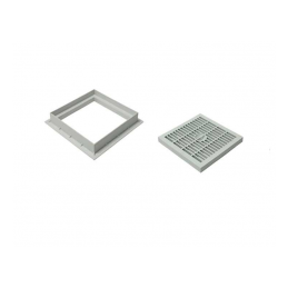 Plastic Grill 40x40 With Rim