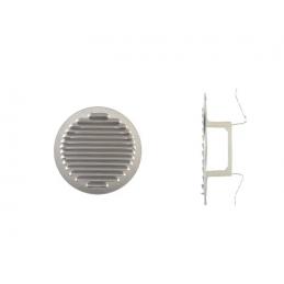 Round ventilation grille...