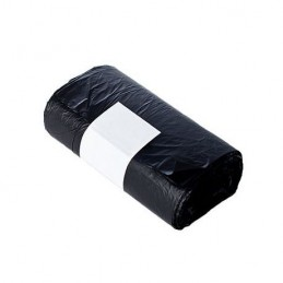 Black garbage bag 30lts